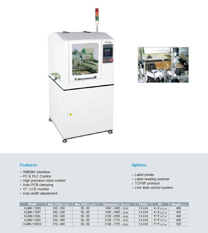 Kiheung FA Labeling Machine KLBM-Series