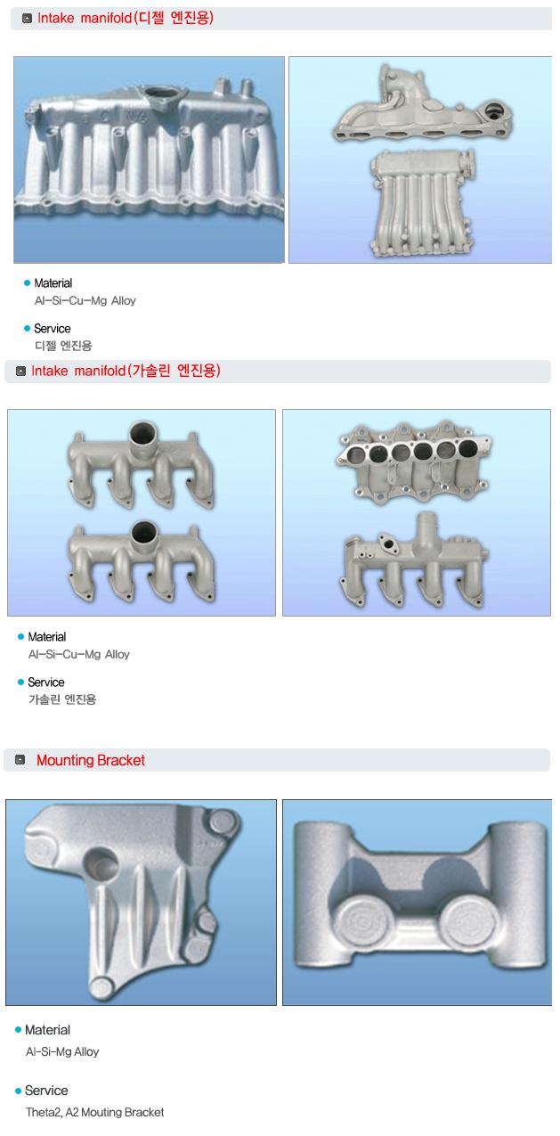 한국차폐기술(주) AL 합금주조품  1