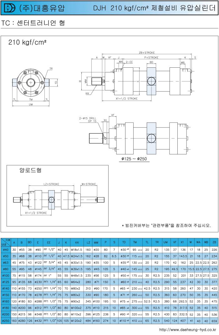 (주)대흥유압 제철 설비 고압실린더  9