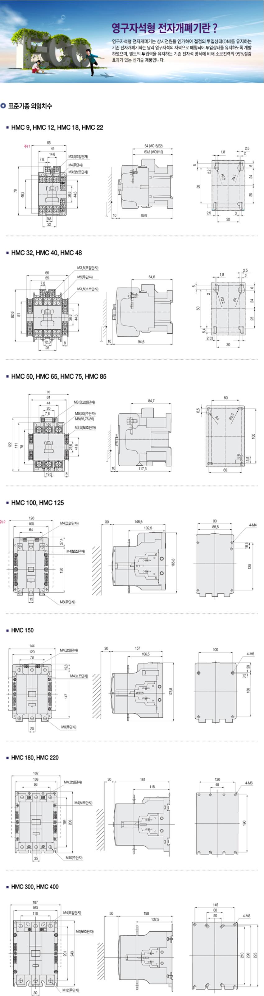 한광전기공업(주) 영구자석형 전자개폐기  5