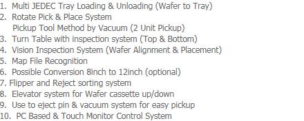 AP-Tech Vision Inspection & Sorting System VI-2000