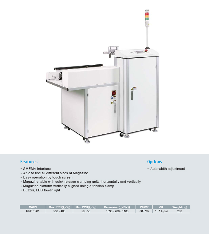 Kiheung FA Single Magazine Unloader (CE Type) KUP-100X