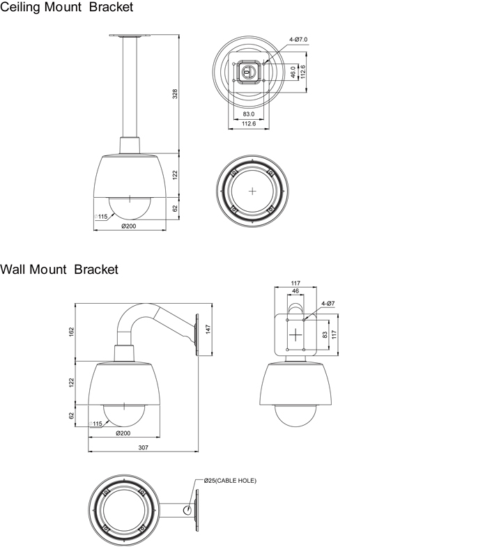 Camlux Speed Dome Camera CMA-220S 2