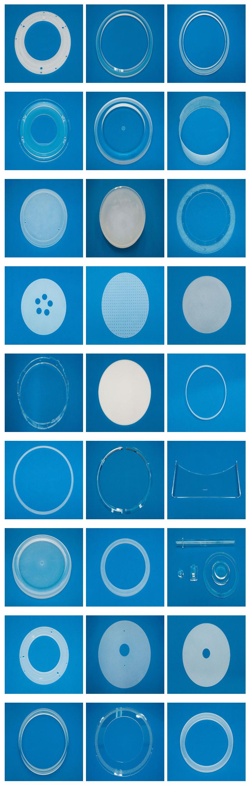 BCnC Quartz for semiconductor Mfg equipment