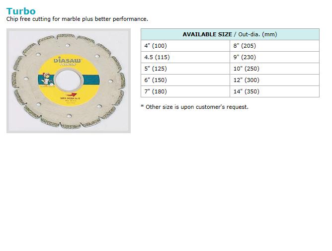 동신다이아몬드공업(주) Electro-plated Products  2