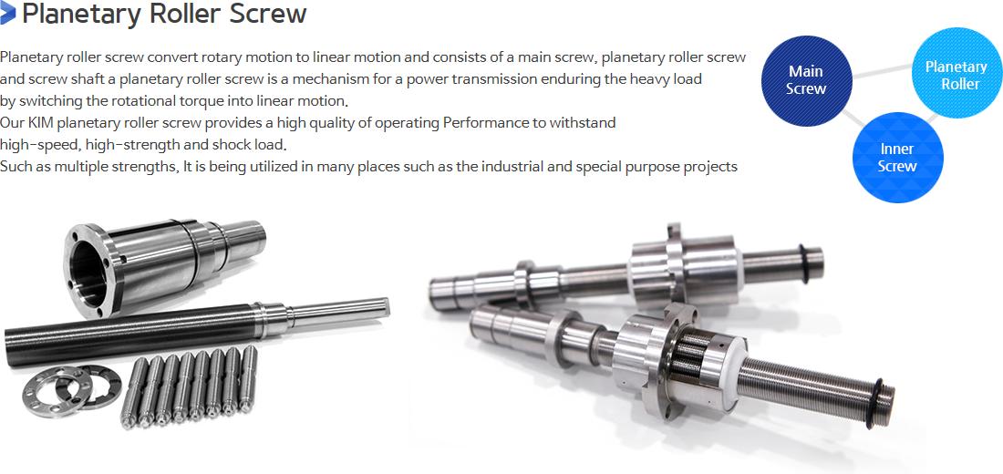 KIM Planetary Roller Screw