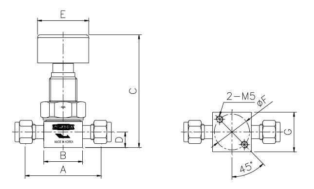 ASFLOW Quarter-Turn Diaphragm Valve  3