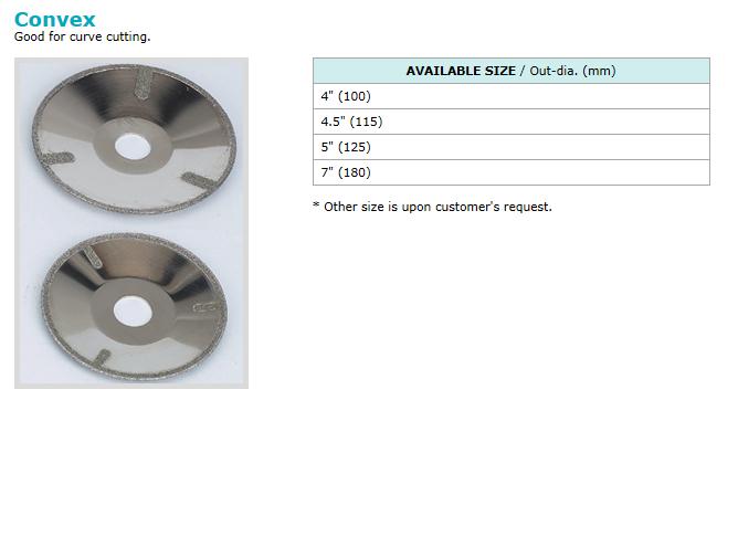동신다이아몬드공업(주) Electro-plated Products  3