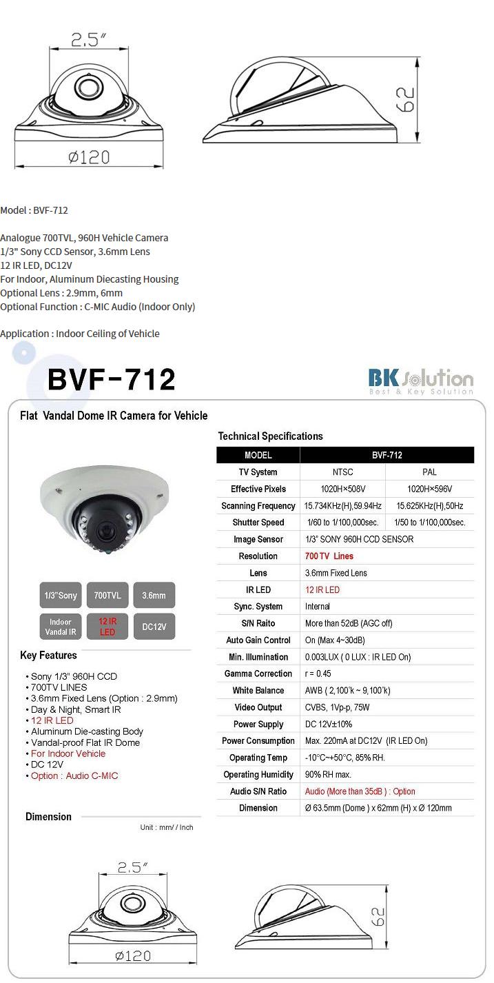 Bk Solution  BVF-712