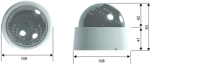 Camlux 700TVL (960H) CD-700VIR/701VIR 2