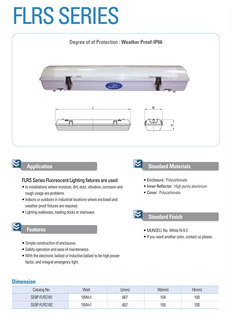Samik Explosi Onproof Elxctric  FLRS Series