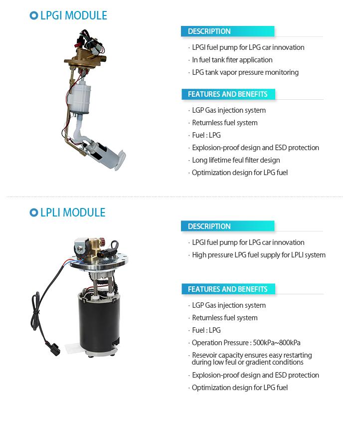 COAVIS LPG Injection Type Fuel Pump Module