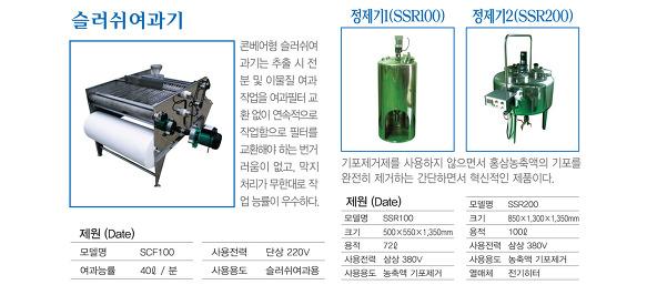 진성공업 정제기 SSR10/20