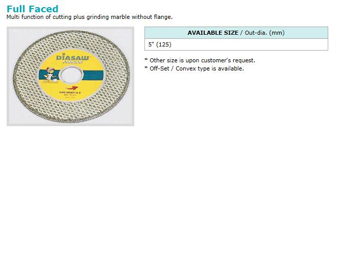 동신다이아몬드공업(주) Electro-plated Products  4
