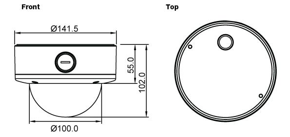 Seyeon Tech Dome Camera FW1175-FV(1s) 1
