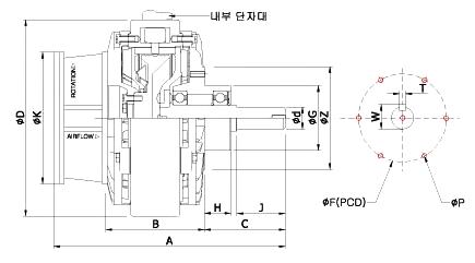 한성전자 강재공냉 HSB-5/10/20/40-Y