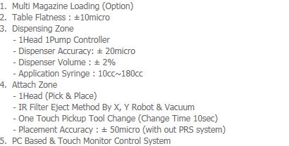 AP-Tech Dispensing & IR Filter Mount System IR-10M
