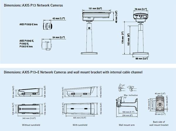 KOREA CCS Network Camera AXIS 1354 1
