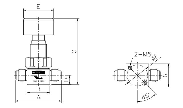 ASFLOW Quarter-Turn Diaphragm Valve  1