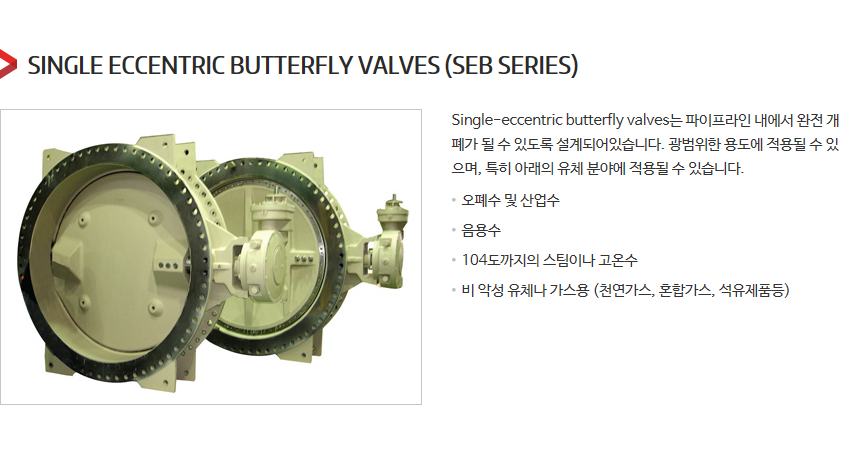 DKC Single Eccentric Butterfly Valves  3