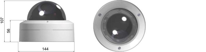 Camlux 700TVL (960H) CV-700V/701V 2