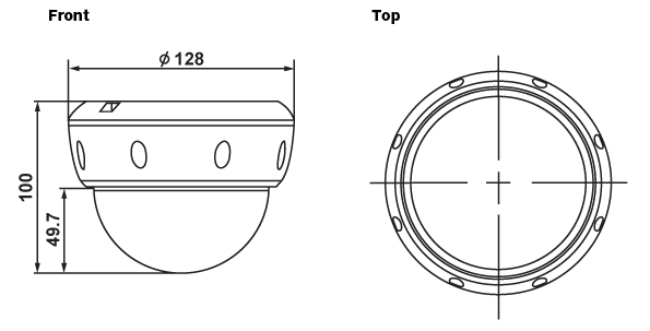(주)세연테크 Dome Camera FW1176-FM(1s) 1