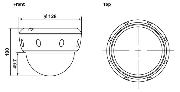 (주)세연테크 Dome Camera FW1176-FF 1