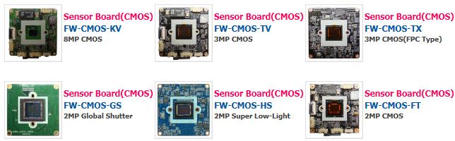 Seyeon Tech CMOS Sensor Board