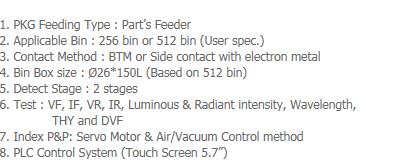 AP-Tech Test Handler System LCT-2000