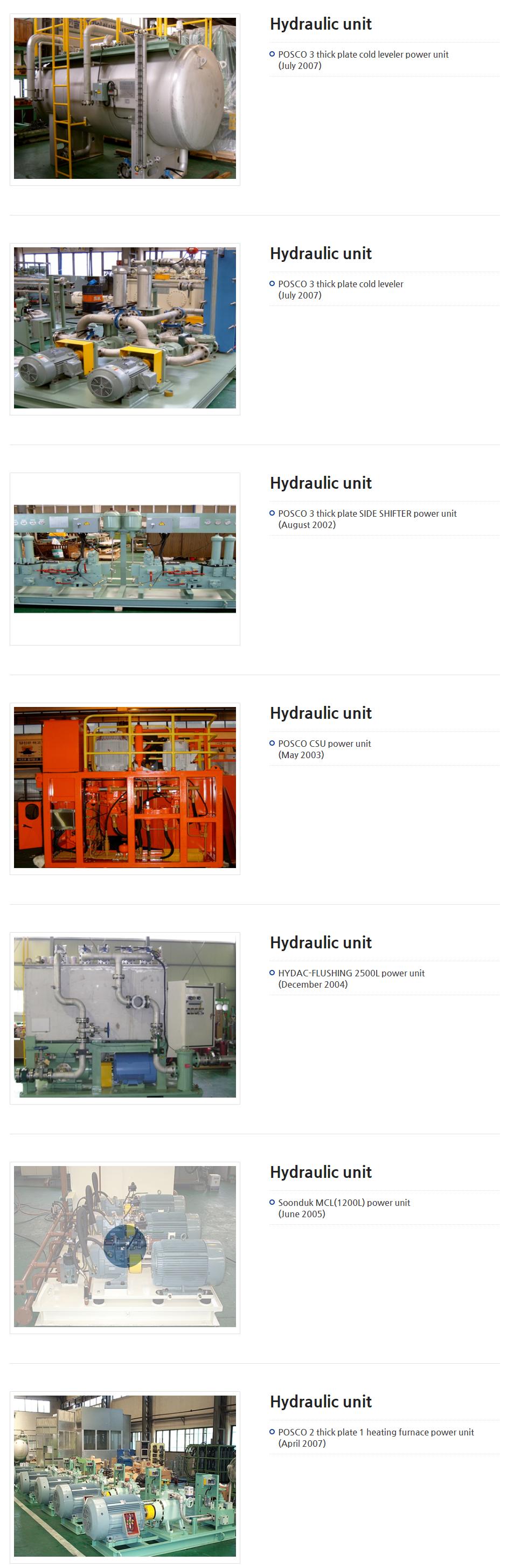 CYSKO Hydraulic unit