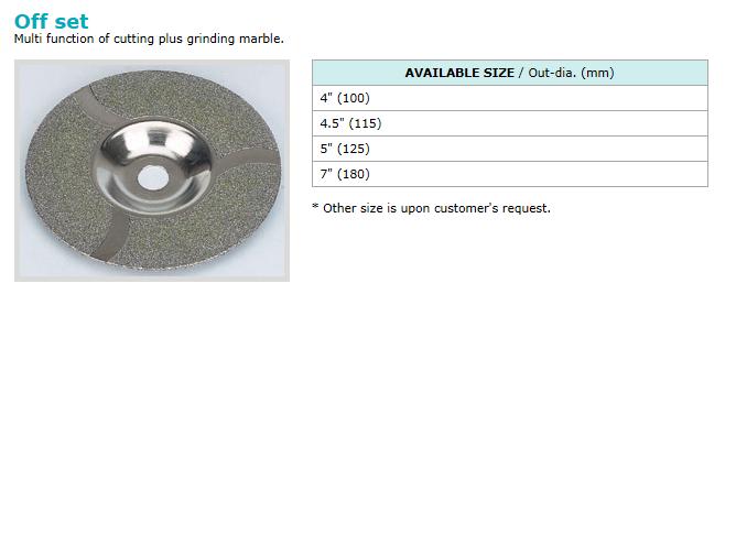 동신다이아몬드공업(주) Electro-plated Products  5