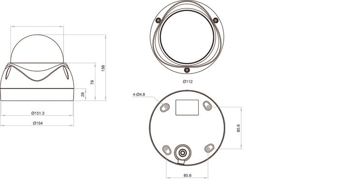 Camlux Speed Dome Camera CKTA-N30/P30 2