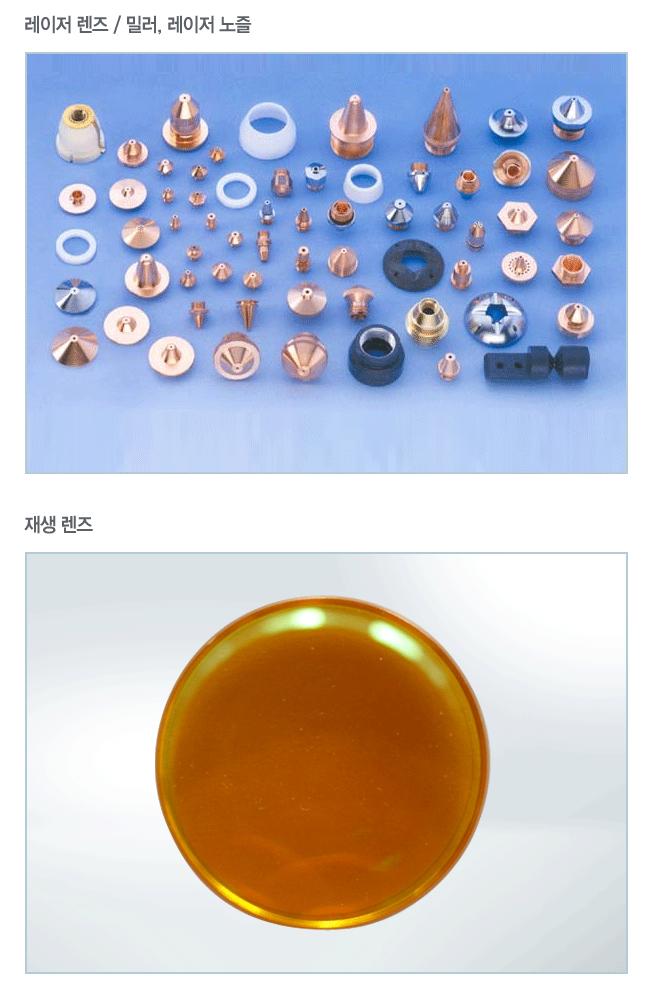 (주)코리아레이저테크 레이저 부품  1