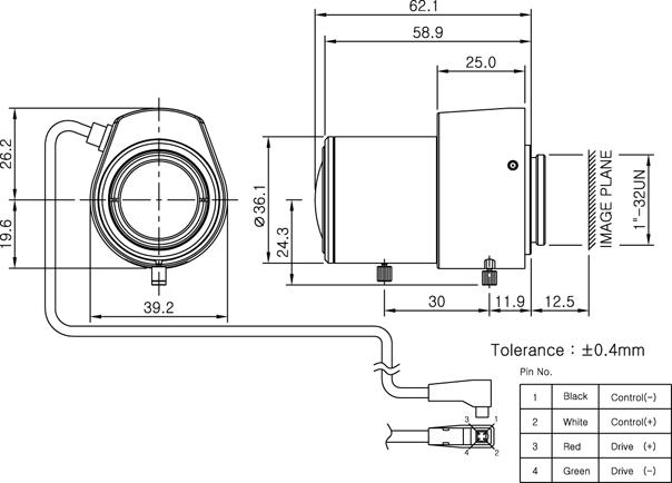 Camlux Lens DW28120D 1