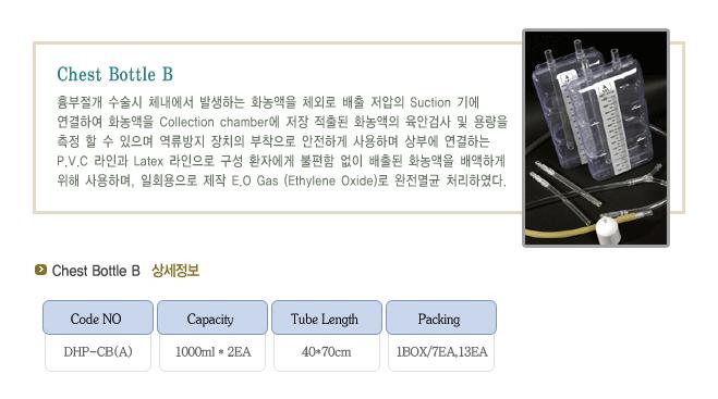 (주)동화판다 Chest Bottle B DHP-CB(A) 1