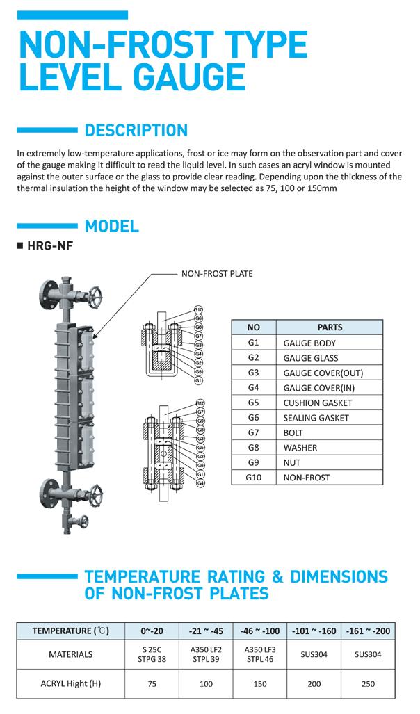 HITELFI Non-frost Type HRG-NF