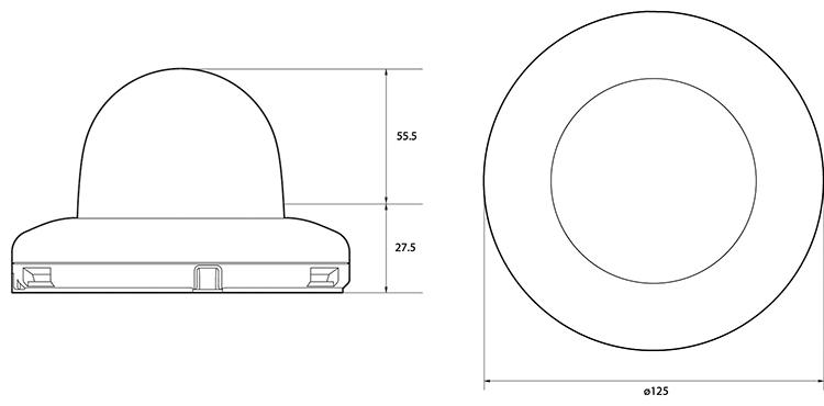 Camlux 2M-Speed Dome Camera CIF-H2000PTZ 2