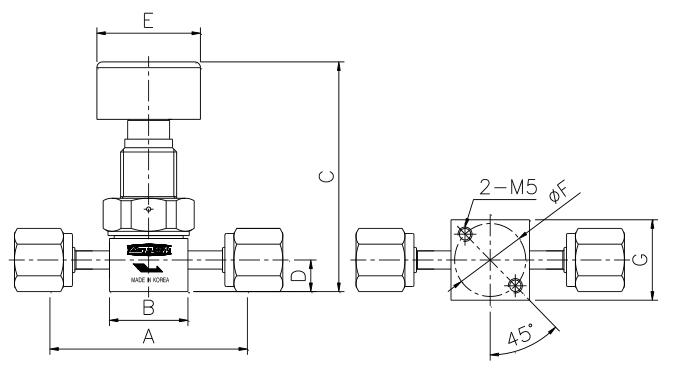 ASFLOW Quarter-Turn Diaphragm Valve  2