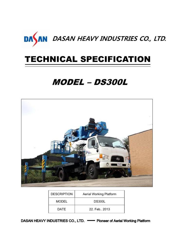 Dasan Heavy Industries  SKYMAN Series 6