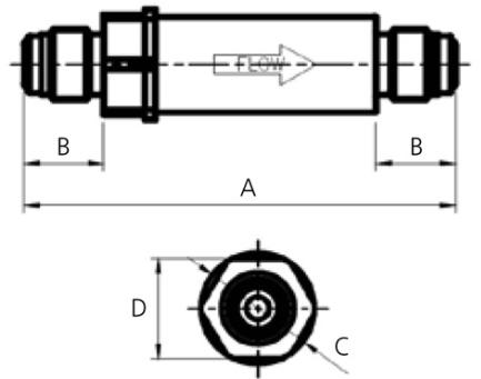 ASFLOW Hastelloy Gas Filter FLT-HF Series 1