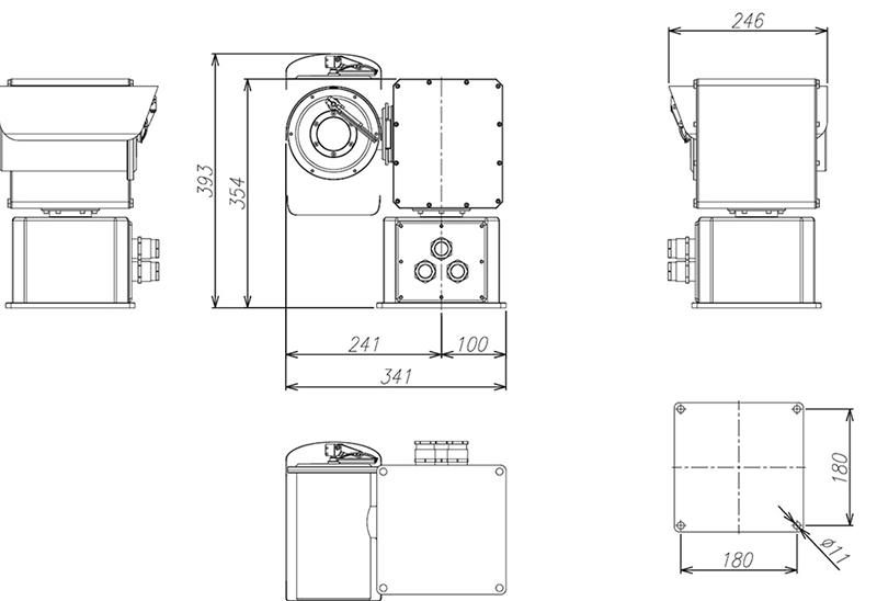 Camlux Camera SWAN-MPT-20HD-IP 2