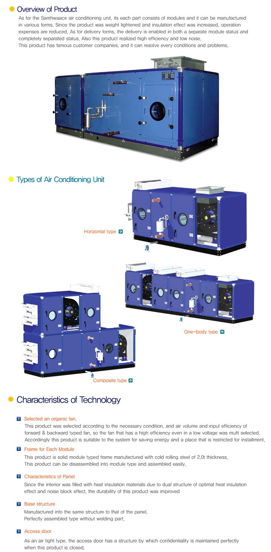 SAMHWA ACE Air Conditioning Unit