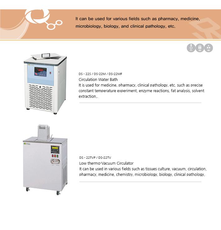 Dasol Scientific Circulation Water Bath DS-22 Series