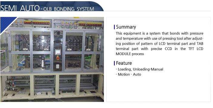 SAT Semi Auto - OLB Bonding System