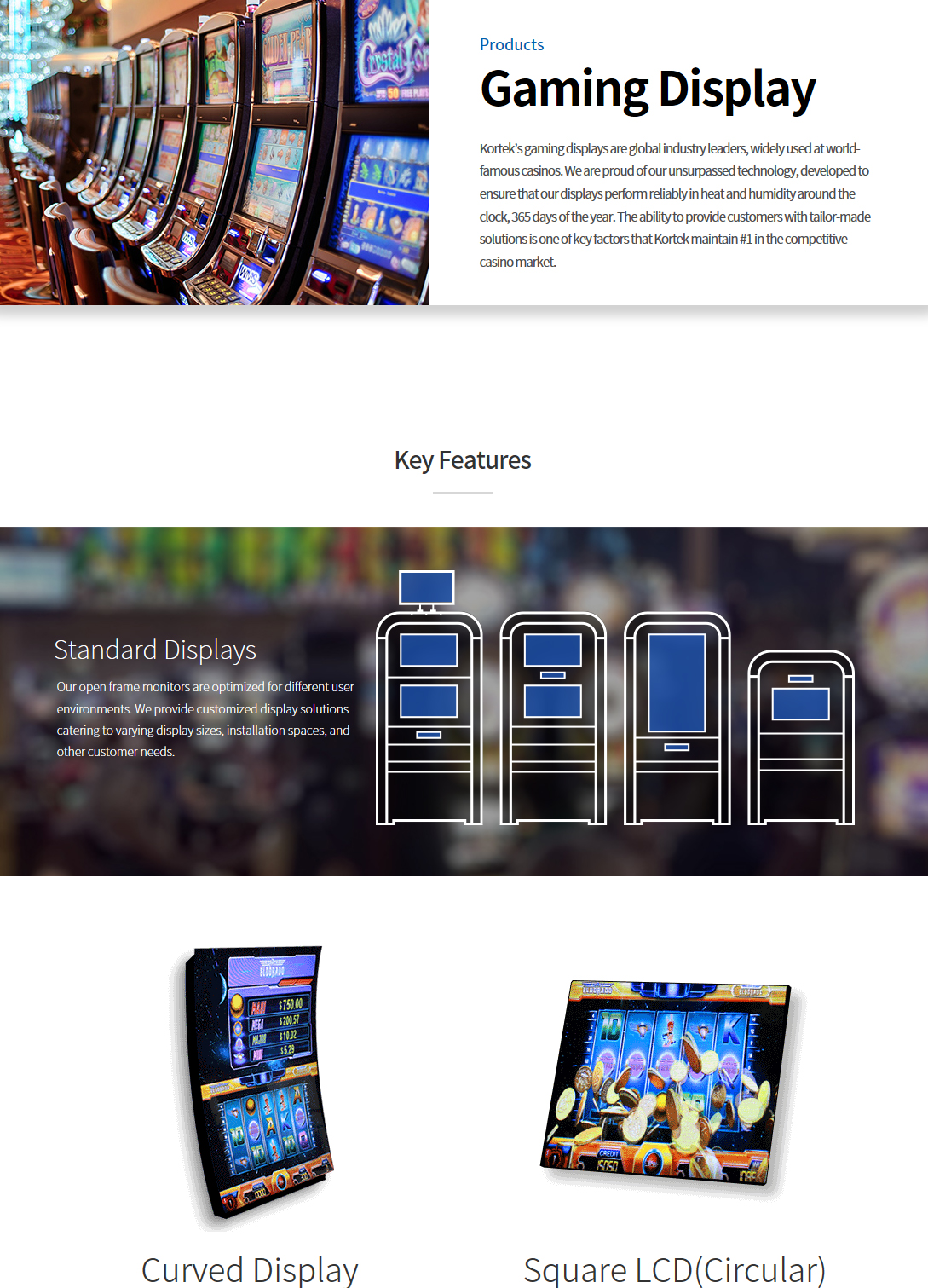 Kortek Gaming Display