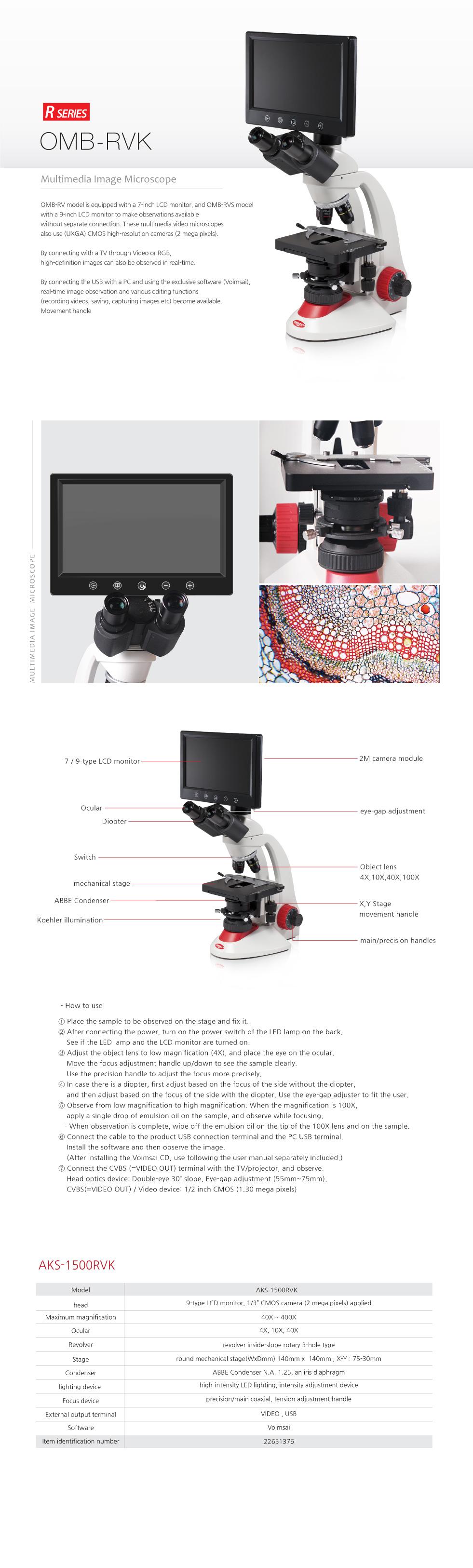 OMAX Biological Microscope  8