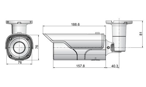 Seyeon Tech Box & Bullet Camera FW7930-HSM 1