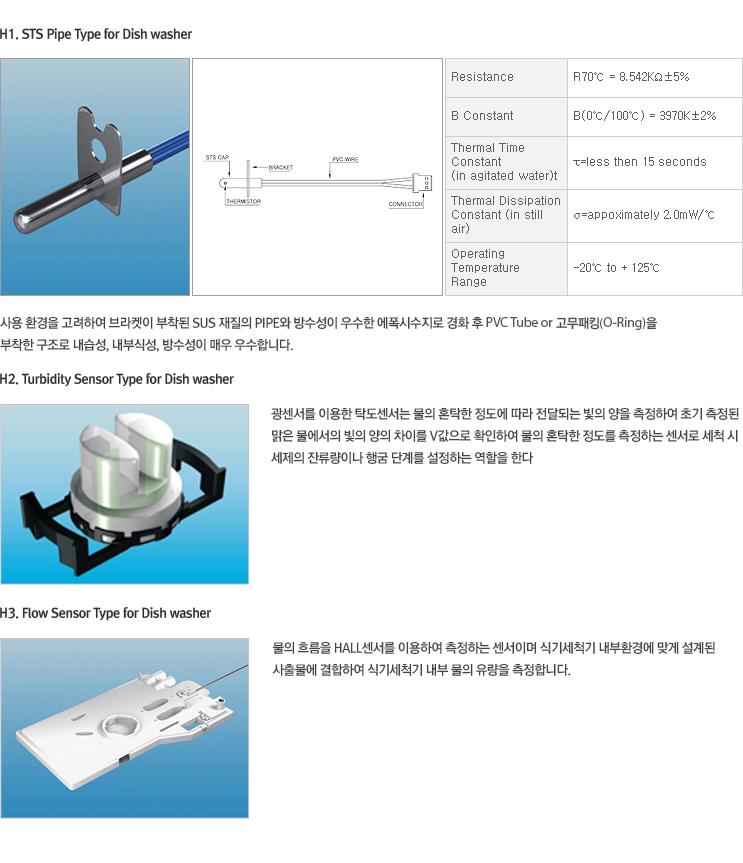 DK&SK 센서 식기세척기용 센서 ASM  1