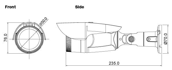 Seyeon Tech Box & Bullet Camera FW7902-TVF 1