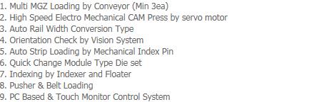 AP-Tech Trim / Form / Singulation System LTFS-1000